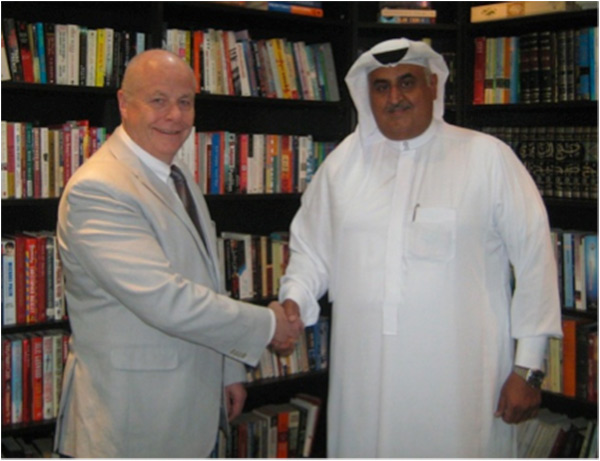 Philip Davies (DTCI) and Ra'id A. Al Rahmah,  President of Effect Advisory